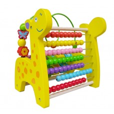 Giraffe multi-purpose  beaded abacus